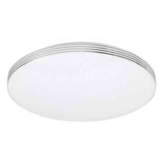RABALUX 3347 | Oscar-RA Rabalux stropné svietidlo kruhový 1x LED 1350lm 4000K chróm, biela, lesklé