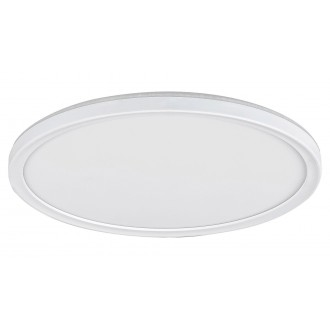RABALUX 3428 | Pavel Rabalux stropné svietidlo kruhový impulzový prepínač regulovateľná intenzita svetla 1x LED 2200lm 4000K biela