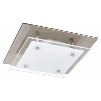 RABALUX 3494 | Janice Rabalux stropné svietidlo štvorec 1x LED 960lm 3000K zrkalový, biela