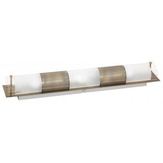 RABALUX 3553 | Periodic Rabalux stenové, stropné svietidlo 3x E14 bronzová, priesvitné, biela