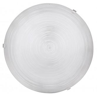 RABALUX 3684 | Tracy Rabalux stenové, stropné svietidlo kruhový 1x E27 biela, priesvitná