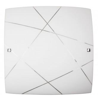 RABALUX 3699 | Phaedra Rabalux stenové, stropné svietidlo 2x E27 chróm, biela
