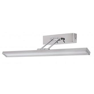 RABALUX 3907 | Picture-slim Rabalux stenové svietidlo otočné prvky 1x LED 316lm 4000K chróm, biela