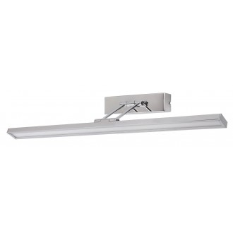 RABALUX 3908 | Picture-slim Rabalux stenové svietidlo otočné prvky 1x LED 466lm 4000K chróm, biela