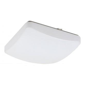 RABALUX 3935 | Igor Rabalux stropné svietidlo štvorec diaľkový ovládač regulovateľná intenzita svetla, nastaviteľná farebná teplota, meniace farbu 1x LED 1150lm 3000 <-> 6500K biela