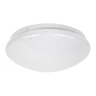 RABALUX 3936 | Lucas Rabalux stenové, stropné svietidlo kruhový 1x LED 700lm 4000K biela, lesklé