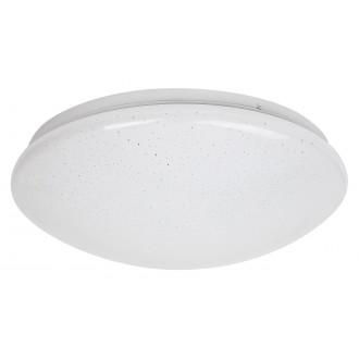 RABALUX 3937 | Lucas Rabalux stenové, stropné svietidlo kruhový 1x LED 1140lm 4000K biela, lesklé