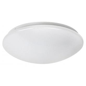 RABALUX 3938 | Lucas Rabalux stenové, stropné svietidlo kruhový 1x LED 1370lm 4000K biela, lesklé