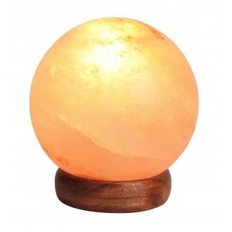 RABALUX 4093 | Ozone Rabalux stolové soľná lampa prepínač na vedení 1x E14 90lm 2700K hnedá, natur