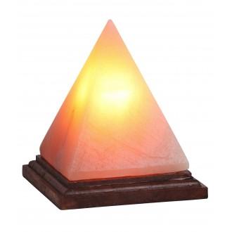 RABALUX 4096 | Vesuvius Rabalux stolové soľná lampa 15,2cm prepínač na vedení 1x E14 90lm 2700K hnedá, natur
