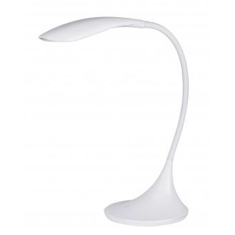 RABALUX 4166 | Dominic Rabalux stolové svietidlo 52cm dotykový prepínač s reguláciou svetla flexibilné, regulovateľná intenzita svetla 1x LED 480lm 3000K biela