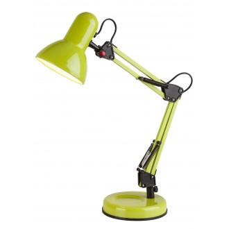 RABALUX 4178   Samson Rabalux stolové svietidlo 49cm prepínač na vedení otočné prvky 1x E27 zelená, čierna