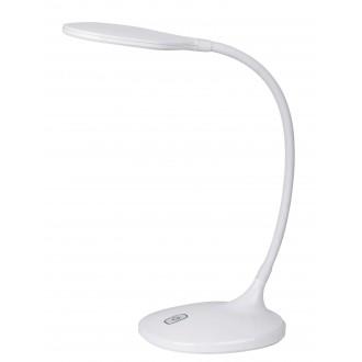 RABALUX 4318 | Aiden Rabalux stolové svietidlo 43cm dotykový vypínač flexibilné 1x LED 550lm 3000K biela