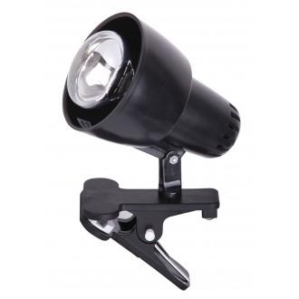 RABALUX 4357 | ClipR Rabalux spot svietidlo prepínač na vedení otočné prvky 1x E14 / R50 čierna