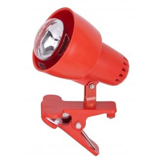 RABALUX 4358 | ClipR Rabalux spot svietidlo prepínač na vedení otočné prvky 1x E14 / R50 pomaranč