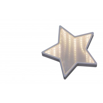 RABALUX 4553 | Starr Rabalux dekor svietidlo 1x LED 140lm 6500K biela, zrkalový