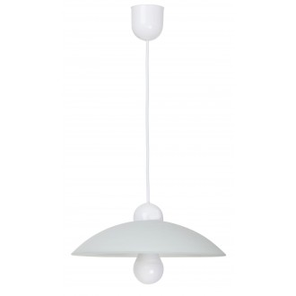 RABALUX 4615 | Cupola-range Rabalux visiace svietidlo 1x E27 biela