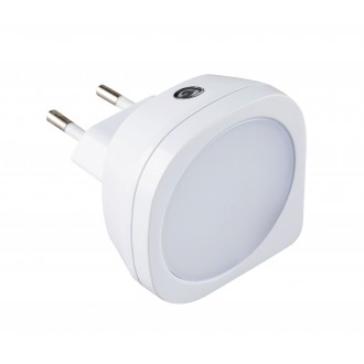 RABALUX 4647 | BillyR Rabalux nočné svetlo svietidlo svetelný senzor - súmrakový spínač konektorové svietidlo 1x LED 2lm 2700K biela