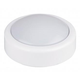 RABALUX 4703 | Push Rabalux stenové svietidlo prepínač 1x LED biela
