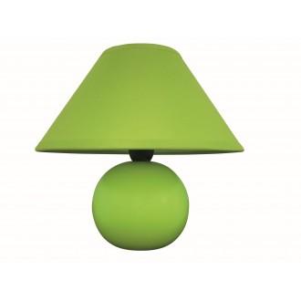 RABALUX 4907 | Ariel Rabalux stolové svietidlo 19cm prepínač na vedení 1x E14 zelená