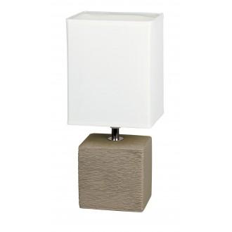 RABALUX 4930 | OrlandoR Rabalux stolové svietidlo 30cm prepínač na vedení 1x E14 kakao, natur