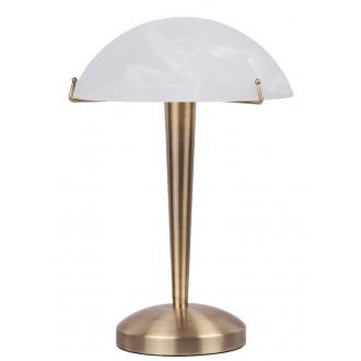 RABALUX 4990   LucyR Rabalux stolové svietidlo 34cm dotykový prepínač s reguláciou svetla regulovateľná intenzita svetla 1x E14 bronzová, biela