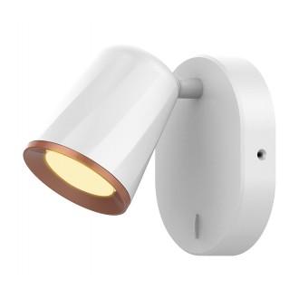 RABALUX 5045 | Solange Rabalux spot svietidlo prepínač otočné prvky 1x LED 380lm 3000K biela, zlatý