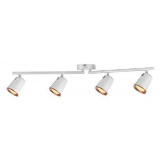 RABALUX 5048 | Solange Rabalux spot svietidlo otočné prvky 1x LED 1520lm 3000K biela, zlatý