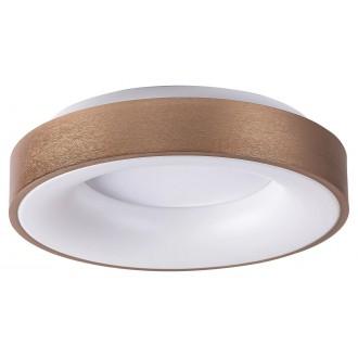 RABALUX 5052 | Carmella Rabalux stropné svietidlo kruhový 1x LED 1950lm 4000K zlatý, biela