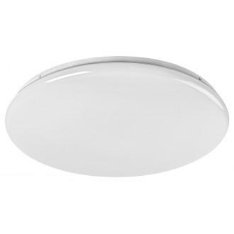 RABALUX 5450 | Danny Rabalux stropné svietidlo kruhový diaľkový ovládač regulovateľná intenzita svetla, nastaviteľná farebná teplota, časový spínač 1x LED 4800lm 3000 <-> 6500K biela