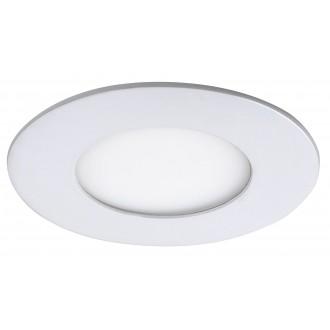 RABALUX 5568 | Lois Rabalux zabudovateľné LED panel kruhový Ø85mm 85x85mm 1x LED 170lm 4000K matný biely, biela