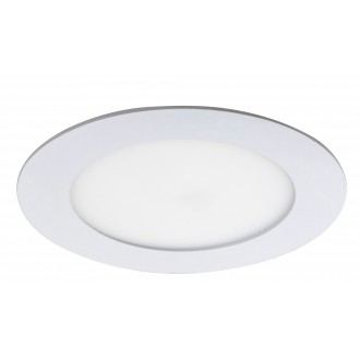 RABALUX 5569 | Lois Rabalux zabudovateľné LED panel kruhový Ø120mm 120x120mm 1x LED 350lm 4000K matný biely, biela