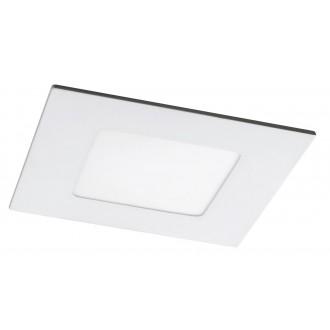 RABALUX 5576 | Lois Rabalux zabudovateľné LED panel štvorec 90x90mm 1x LED 170lm 4000K matný biely, biela
