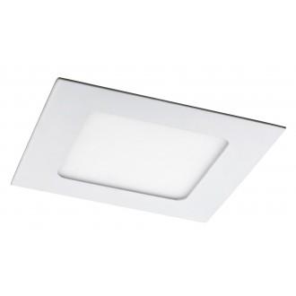 RABALUX 5577 | Lois Rabalux zabudovateľné LED panel štvorec 120x120mm 1x LED 350lm 4000K matný biely, biela
