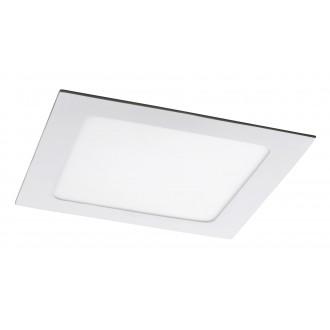 RABALUX 5578 | Lois Rabalux zabudovateľné LED panel štvorec 170x170mm 1x LED 800lm 4000K matný biely, biela