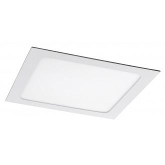 RABALUX 5579 | Lois Rabalux zabudovateľné LED panel štvorec 220x220mm 1x LED 1400lm 4000K matný biely, biela