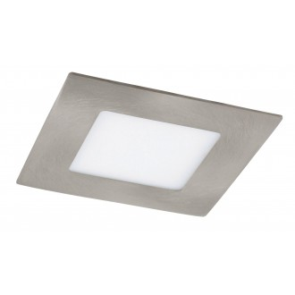 RABALUX 5580 | Lois Rabalux zabudovateľné LED panel štvorec 90x90mm 1x LED 170lm 3000K satén chróm, biela