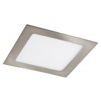 RABALUX 5582 | Lois Rabalux zabudovateľné LED panel štvorec 170x170mm 1x LED 800lm 3000K satén chróm, biela