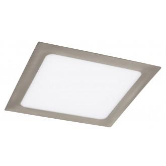 RABALUX 5583 | Lois Rabalux zabudovateľné LED panel štvorec 220x220mm 1x LED 1400lm 3000K satén chróm, biela