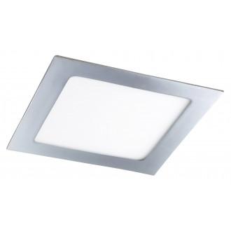 RABALUX 5591 | Lois Rabalux zabudovateľné LED panel štvorec 170x170mm 1x LED 800lm 3000K IP44 chróm, biela