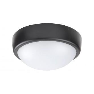 RABALUX 5621 | Boris-RA Rabalux stenové, stropné svietidlo 1x LED 800lm 4000K IP54 biela, čierna