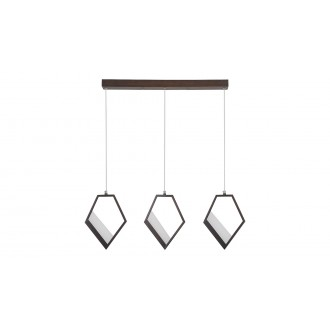RABALUX 5644 | Silvana Rabalux visiace svietidlo 1x LED 3600lm 3000K metalovo hnedá