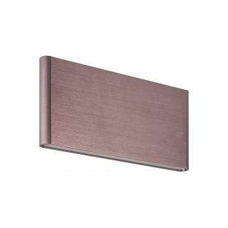 RABALUX 5651 | Elinor Rabalux stenové svietidlo 1x LED 185lm 3000K metalovo hnedá