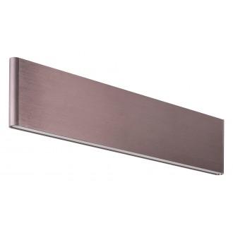 RABALUX 5652 | Elinor Rabalux stenové svietidlo 1x LED 640lm 3000K metalovo hnedá