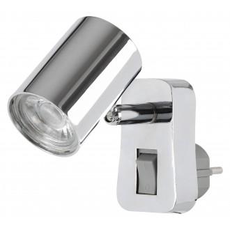 RABALUX 5659 | Cara-RA Rabalux konektorové svietidlo svietidlo prepínač otočné prvky 1x LED 350lm 3000K chróm