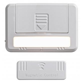 RABALUX 5675 | Magnus-RA Rabalux osvetlenie nábytku svietidlo prepínač 2 dielna súprava, magnet, batérie/akumulátorové 1x LED 35lm 3000K biela