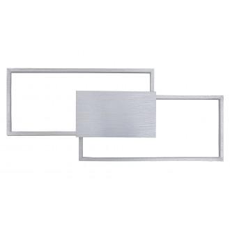 RABALUX 5678 | Andrei Rabalux stenové svietidlo obdĺžnik 1x LED 1293lm 3000K leštený hliník