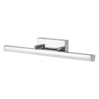 RABALUX 5719 | SilasR Rabalux osvetleni zrkadla svietidlo otočné prvky 1x LED 1180lm 4000K IP44 chróm, biela