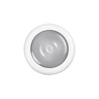 RABALUX 5730 | Milo-RA Rabalux osvetlenie nábytku svietidlo pohybový senzor batérie/akumulátorové 1x LED 30lm 4000K biela, priesvitné
