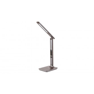 RABALUX 5773 | Elias-RA Rabalux stolové svietidlo 38,5cm dotykový prepínač s reguláciou svetla regulovateľná intenzita svetla, nastaviteľná farebná teplota, otočné prvky 1x LED 400lm 2700 <-> 5500K hnedá